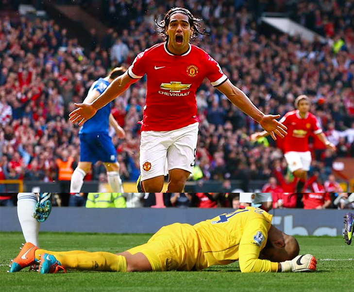 falcao goal vs everton @TheRoyaleIndia