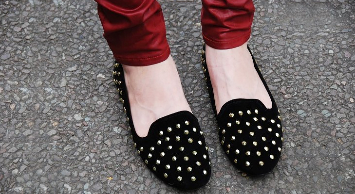 Gothic footwear @TheRoyaleIndia