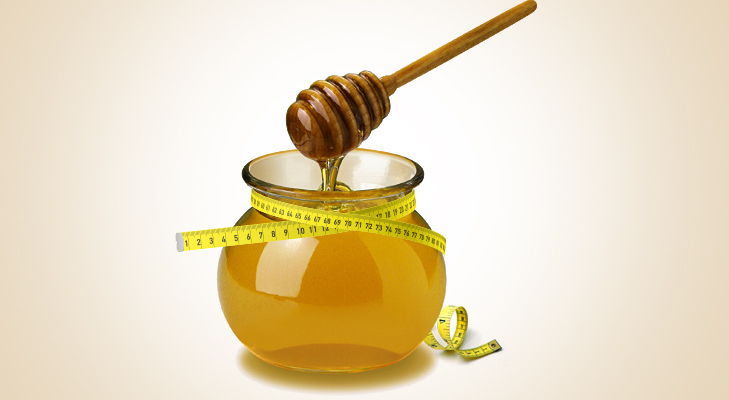 honey helps in losing weight @TheRoyaleIndia