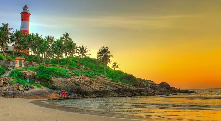 kovalam beach south india @TheRoyaleIndia