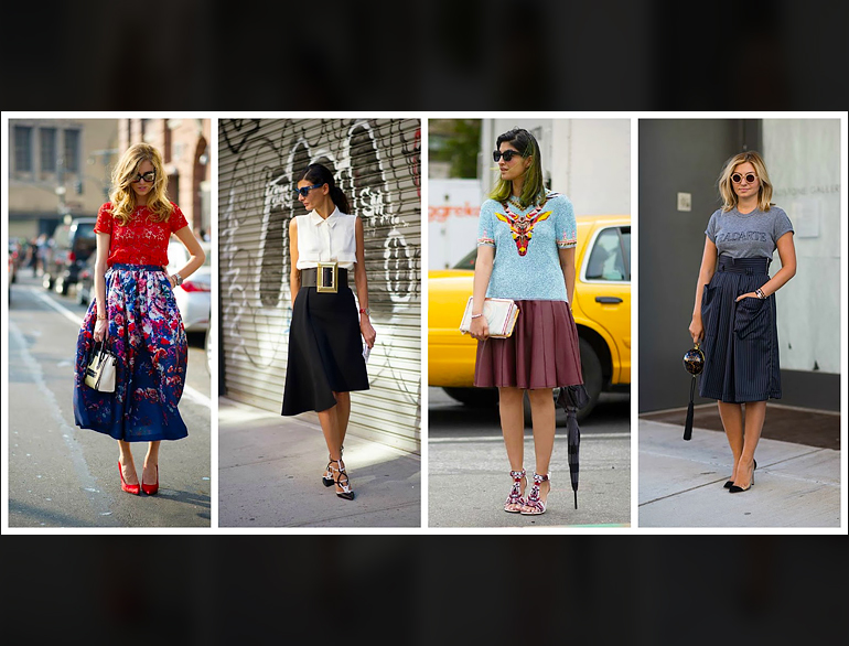 The Midi Skirt Trend: How to wear it right @TheRoyaleIndia