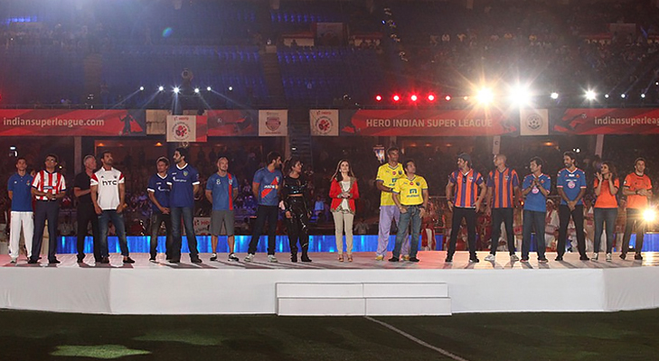 opening ceremony isl @TheRoyaleIndia