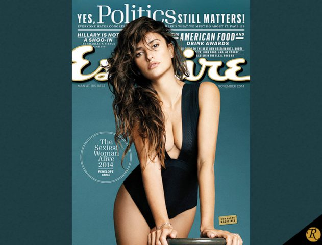 Penelope Cruz - The Sexiest Woman Alive @TheRoyaleIndia