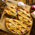 Quick and easy Pie Crust and Cheesy Mushroom Pie Recipe