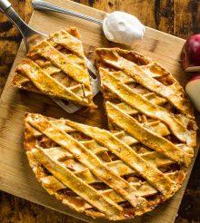 Quick and easy Pie Crust and Cheesy Mushroom Pie Recipe