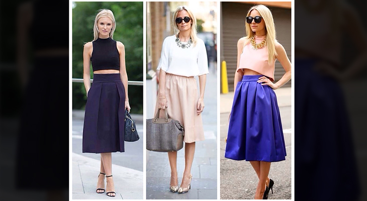 The Midi Skirt Trend: How to wear it right | The Royale