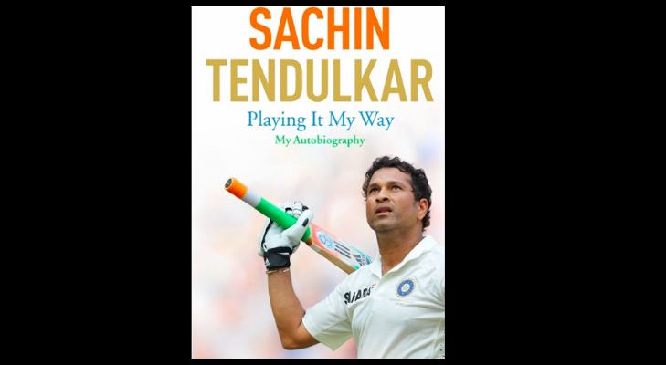 sachin tendulkar autobiography @TheRoyaleIndia