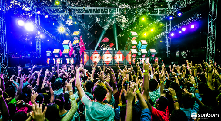 sunburn goa @TheRoyaleIndia