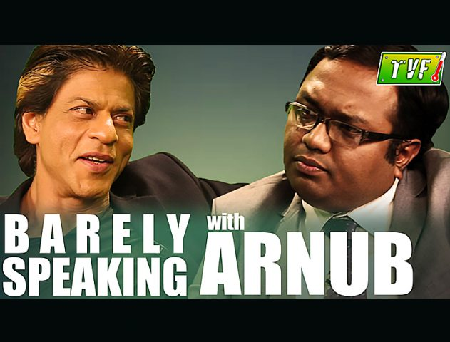 When SRK and Arnub were 'barely' yet frankly speaking @TheRoyaleIndia