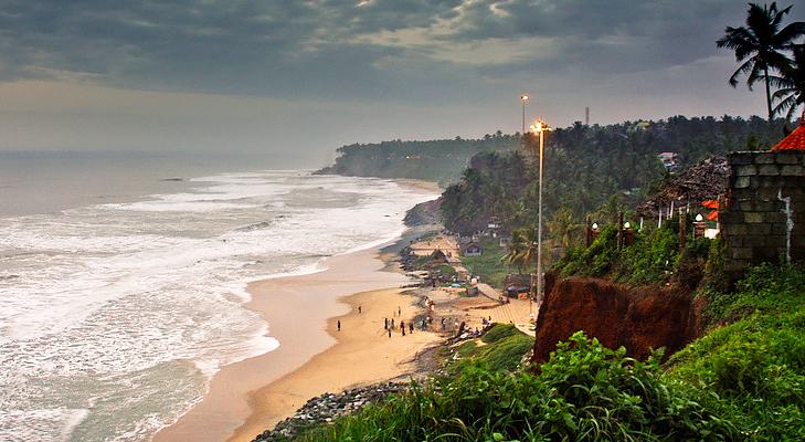 varkala beach @TheRoyaleIndia