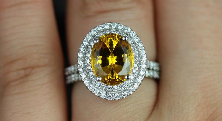 Yellow saphhire @TheRoyaleIndia