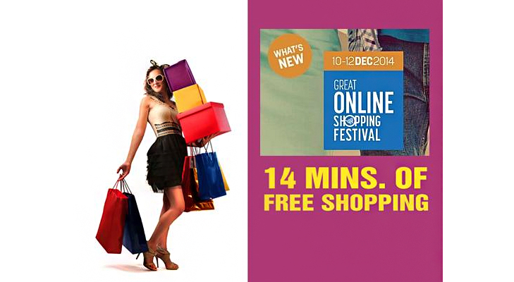 14 min free shopping @TheRoyaleIndia