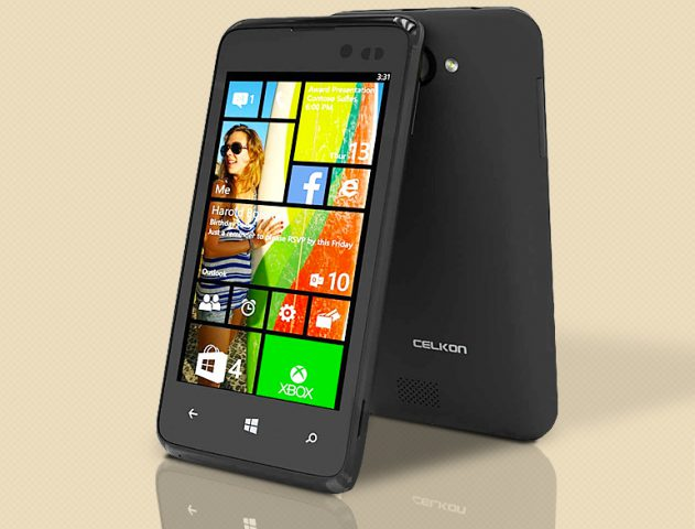 Buy the Celkon Win 400 at Rs 4999 – the most affordable WINDOWS phone @TheRoyaleIndia