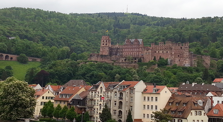 Heidelberg Castle @TheRoyaleIndia