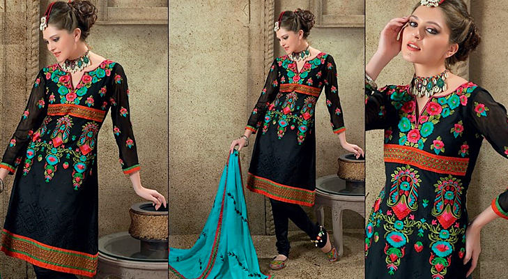 kashmiri salwar suits @TheRoyaleIndia