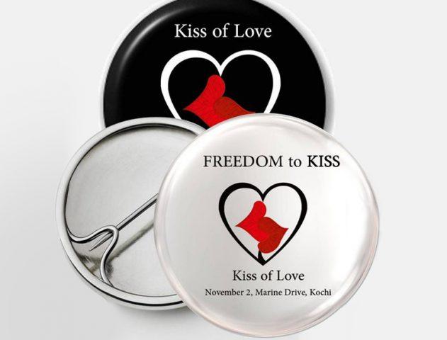 """""""KISS OF LOVE"""" – Protesting the Gandhigiri way! @TheRoyaleIndia"""