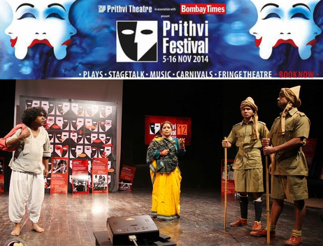 The prestigious Theatrical Legacy Continues - Prithvi Festival 2014 begins @TheRoyaleIndia