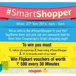 Couponraja's #SmartShopper Contest – Participate to Win Fabulous Shopping Vouchers