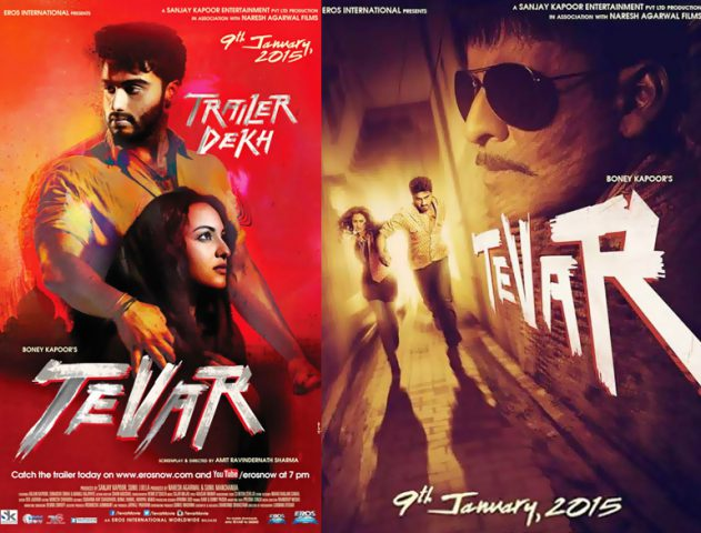 Watch out: Arjun, Sonakshi sizzle on the silver screen --`TEVAR` trailer is finally out @TheRoyaleIndia
