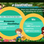 Participate in the #GoodOldDays Contest to Revisit those Carefree Childhood Times
