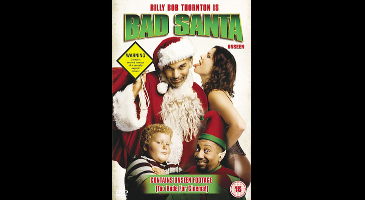 Bad Santa - Christmas movie to watch during the holidays @TheRoyaleIndia