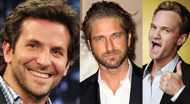 Bradley Cooper Neil Patrick Harris Gerard Butler @TheRoyaleIndia