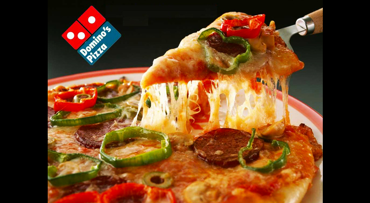 dominino's pizza @TheRoyaleIndia