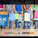 GOSF 2014 – Myntra vs Jabong – The great online shopping battle has begun