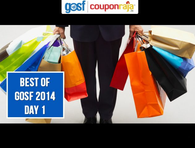BEST GOSF 2014 Offers- DAY 1 @TheRoyaleIndia