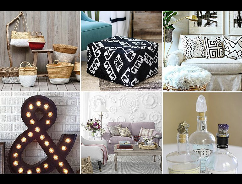 Home d cor shopping websites to transform your home the for Home decor shopping websites
