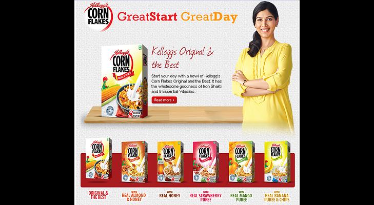Kelloggs Corn Flakes India @TheRoyaleIndia