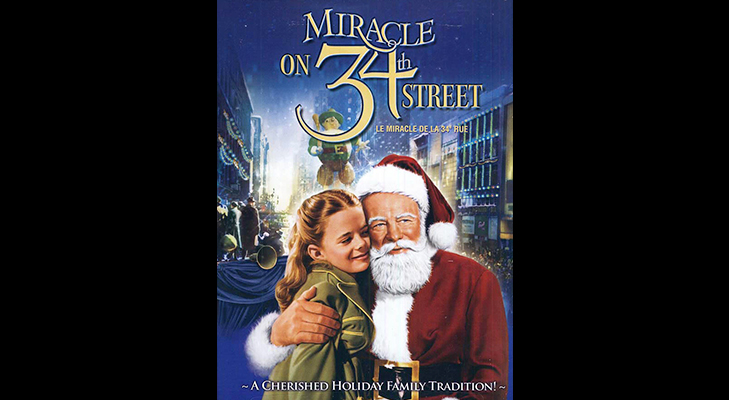 Miracle on 34th Street - Christmas movie to watch during the holidays @TheRoyaleIndia