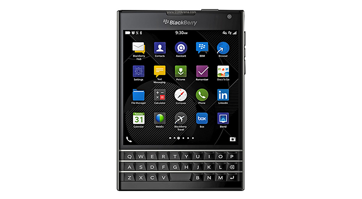 BlackBerry Passport @TheRoyaleIndia