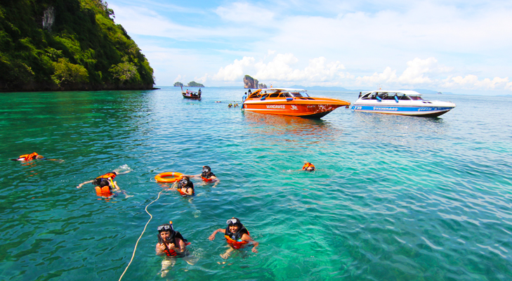 snorkeling at krabi @TheRoyaleIndia
