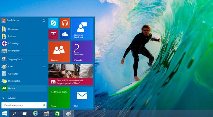windows 10 start menu @TheRoyaleIndia