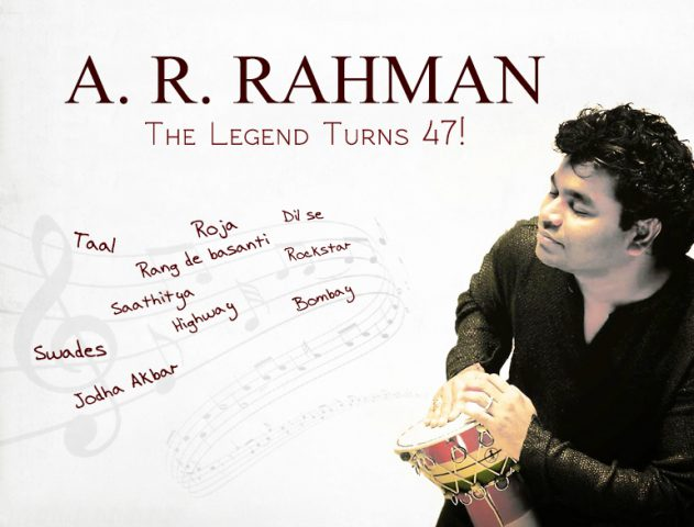 Top 10 Songs of A R Rahman – The Ingenious Composer @TheRoyaleIndia