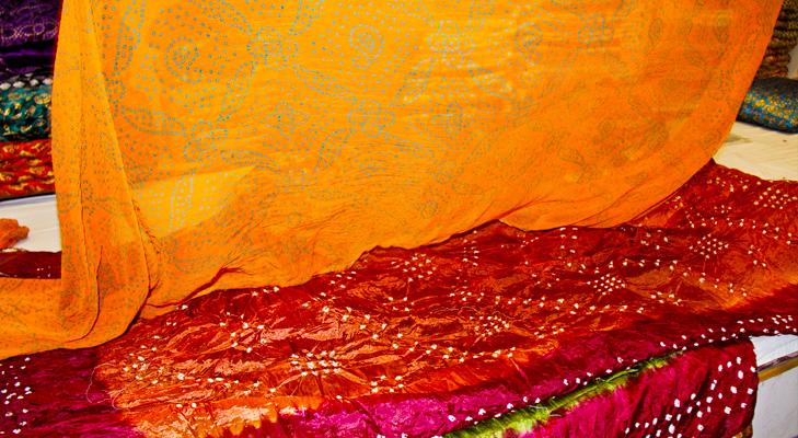 Rajasthani Bandhani Sarees @TheRoyaleIndia