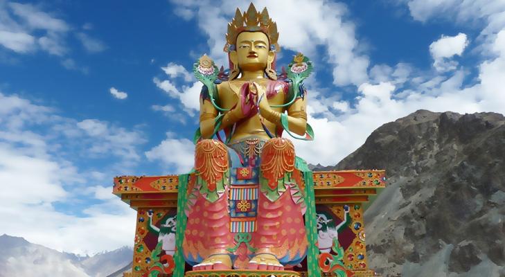 Diskit Monastery @TheRoyaleIndia