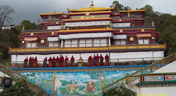 Enchey Monastery @TheRoyaleIndia