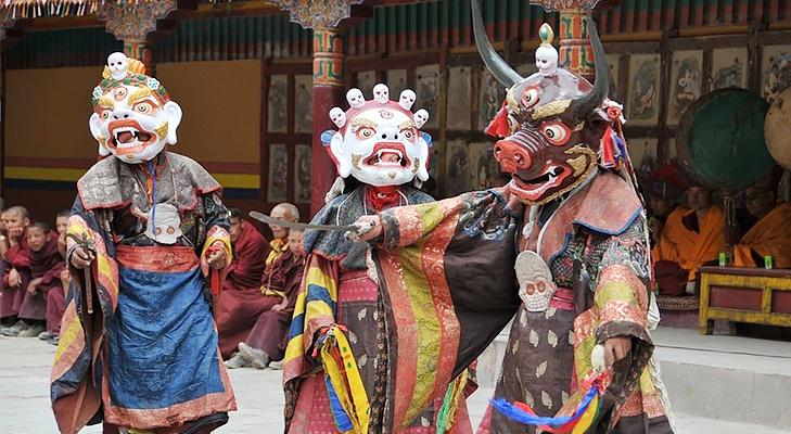 Hemis Mask Dance @TheRoyaleIndia