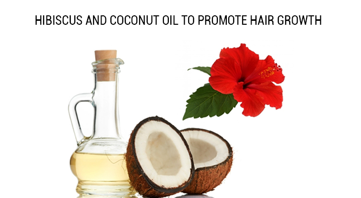 Hibiscus Coconut Oil @TheRoyaleIndia
