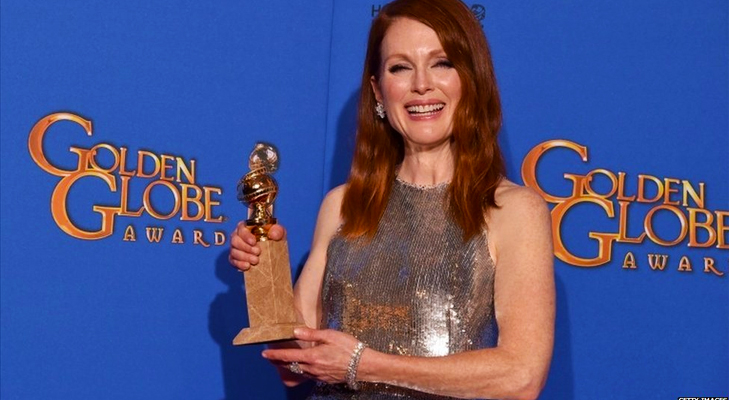 Julianne Moore wins Golden Globe for Still Alice @TheRoyaleIndia