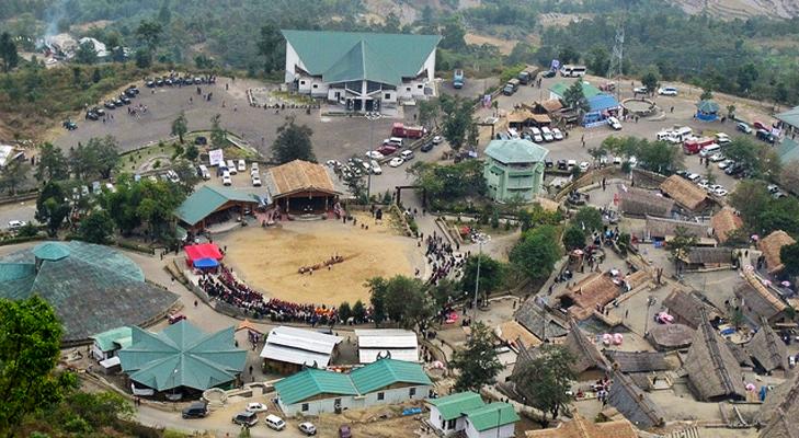 kohima kisama heritage village @TheRoyaleIndia
