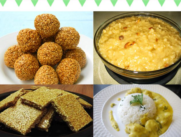 4 Quick Recipes for Makar Sankranti, Lohri, and Ponga @TheRoyaleIndia