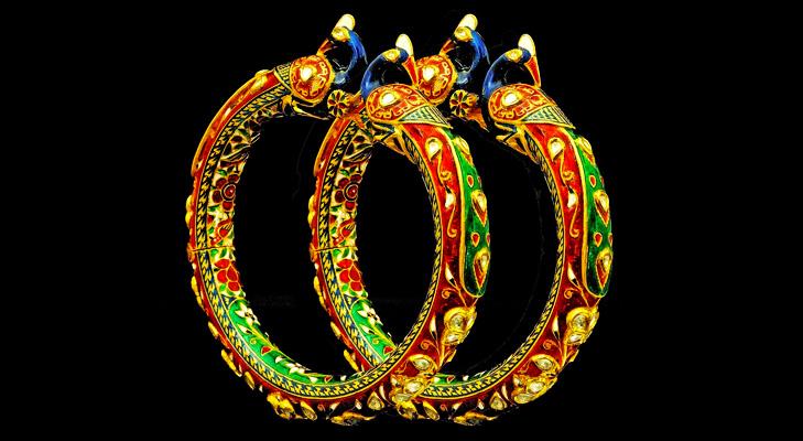 Rajasthani Meenakari Jewellery @TheRoyaleIndia
