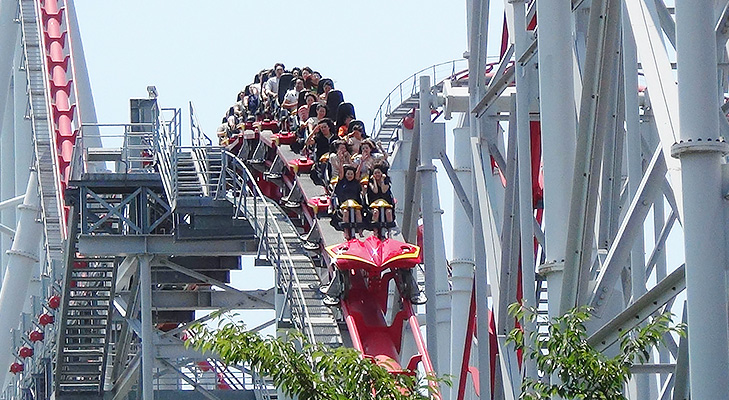 Nagashima Spa Land Roller Coaster @TheRoyaleIndia