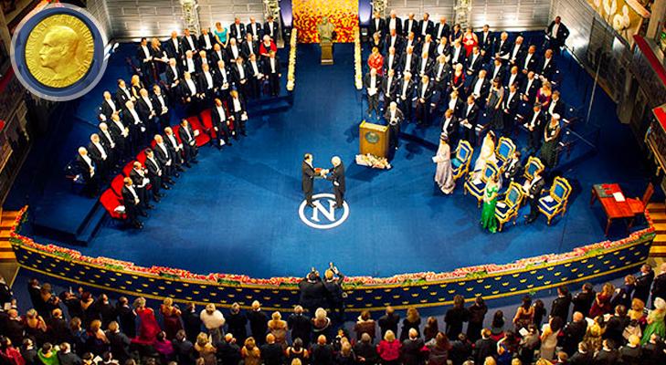 Nobel Prize Ceremony @TheRoyaleIndia