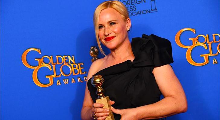 Patricia Arquette wins Golden Globe @TheRoyaleIndia