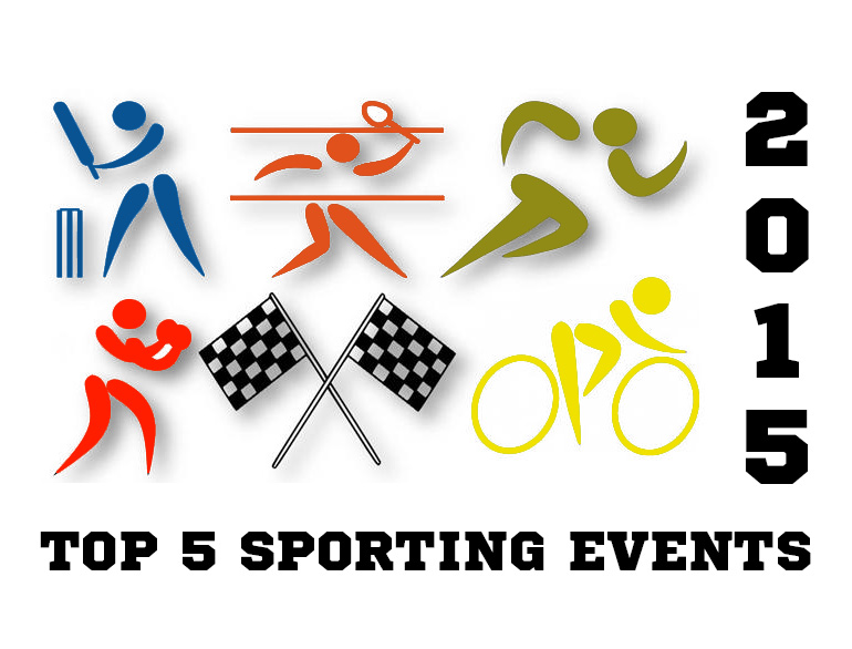 Gear up For The Top 5 Sporting Events in 2015 @TheRoyaleIndia