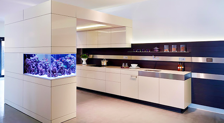 Straight Line Modular Kitchen Design @TheRoyaleIndia